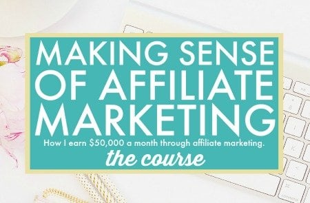 making sense of affiliate marketing for bloggers
