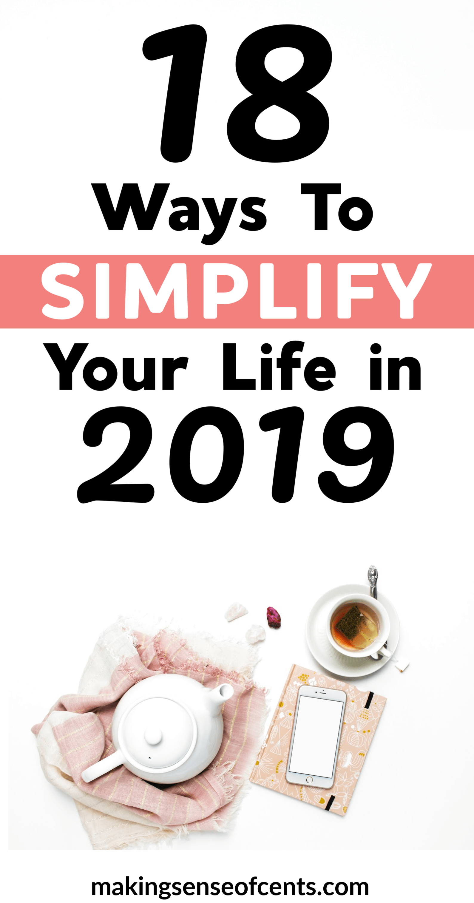image about Design Your Day identified as 18 Methods In the direction of Simplify Your Daily life in just 2019 - Simplify Your Working day