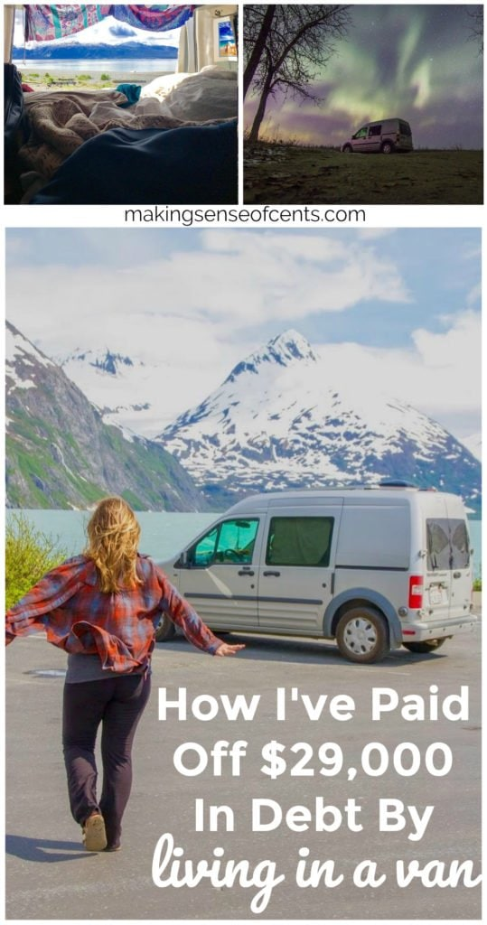Van Life - How I've Paid Off $29,000 In Debt By Living In a Van