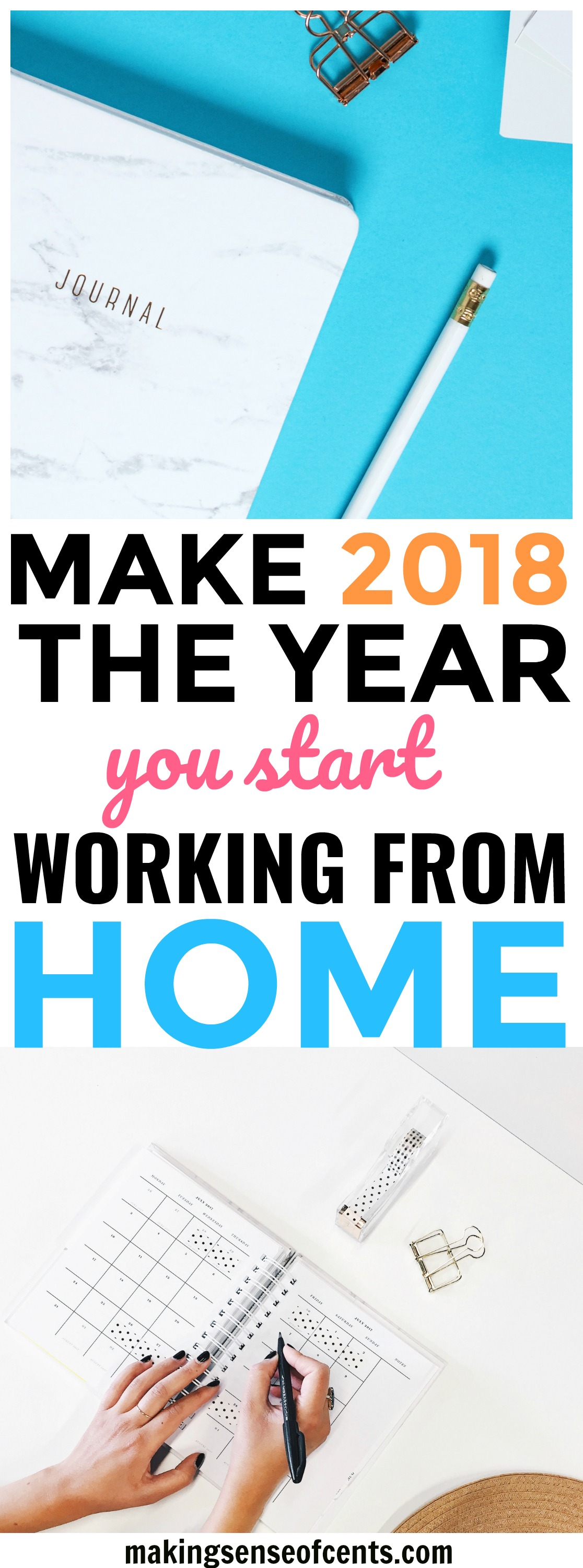 Make 2018 The Year You Start Working From Home #workfromhome #makemoney