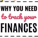 Why You Need To Track Your Finances