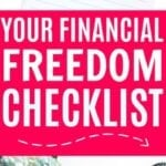 Your Financial Freedom Checklist