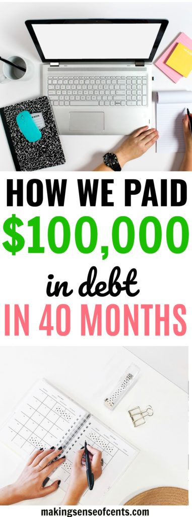 How We Paid off $100,000 in Debt in 40 Months: Marriage and the Military #debtpayoff #payoffdebt
