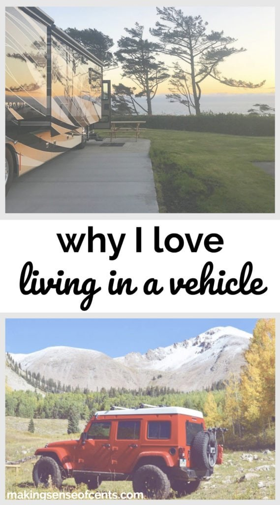Why I Love Living In A Vehicle #livinginavehicle #livinginacamper #rvlife