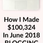 How I Made $100,324 In June 2018 Blogging