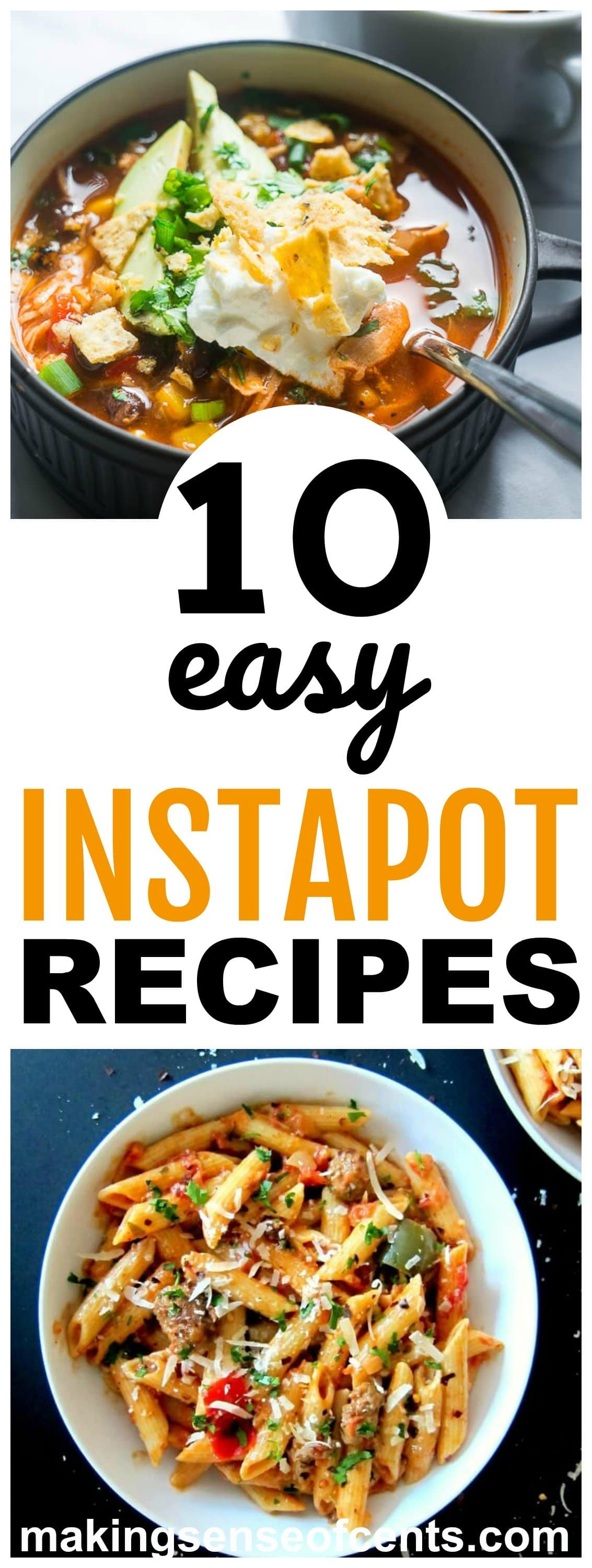 These Instapot recipes are easy, healthy, include ideas for lunch and dinner, and more! #instapotrecipes #instapot #instantpot #instantpotrecipes #easyinstantpotrecipes