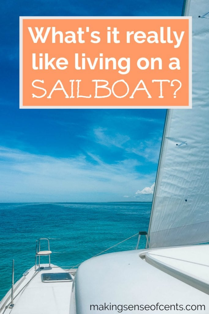We're living on a sailboat, SV Paradise! We bought a Lagoon 42 catamaran and switched from RVing to becoming liveaboards and eventually cruisers. Sailboat living is amazing! #livingonasailboat #sailboat #lagoon42 #liveaboard