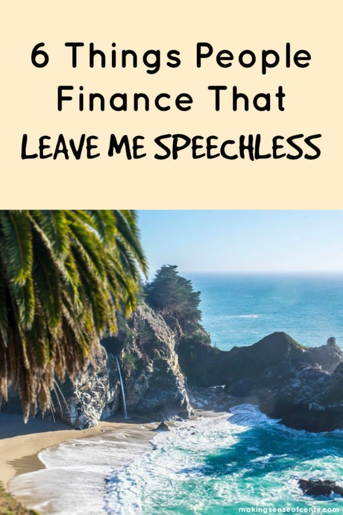 6 Things That People Finance That Leave Me Speechless #moneysavingtip #howtosavemoney #debtfreejourney