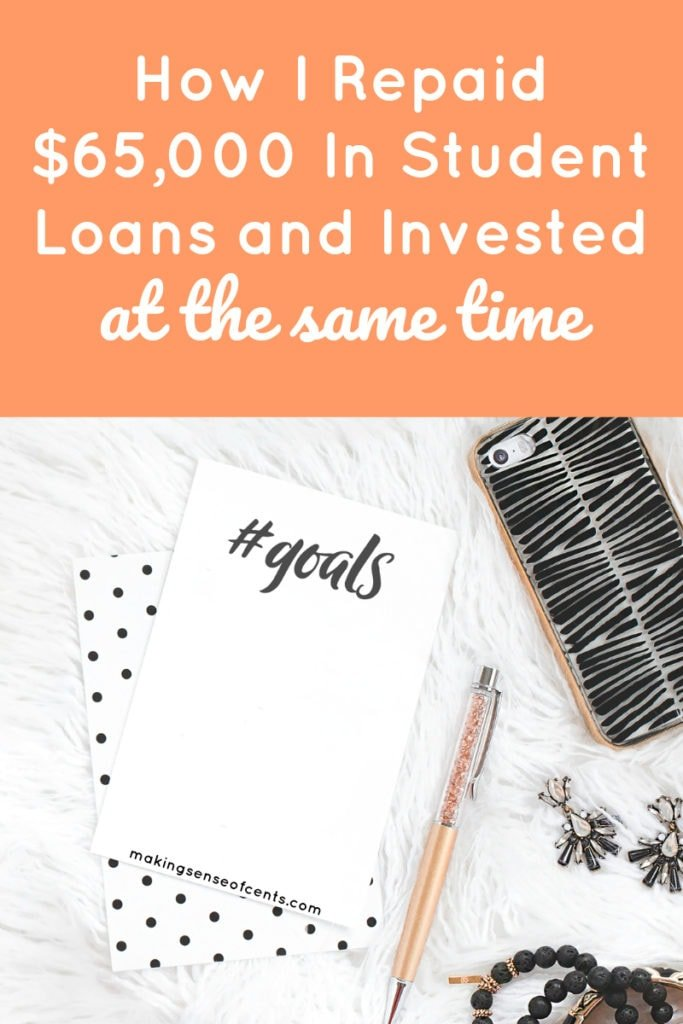 How I Repaid $65,000 In Student Loans and Invested at the Same Time #payoffstudentloans #studentloans #moneysavingtips