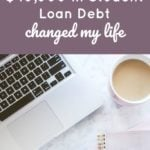 How Paying Off $40,000 In Student Loan Debt Changed My Life