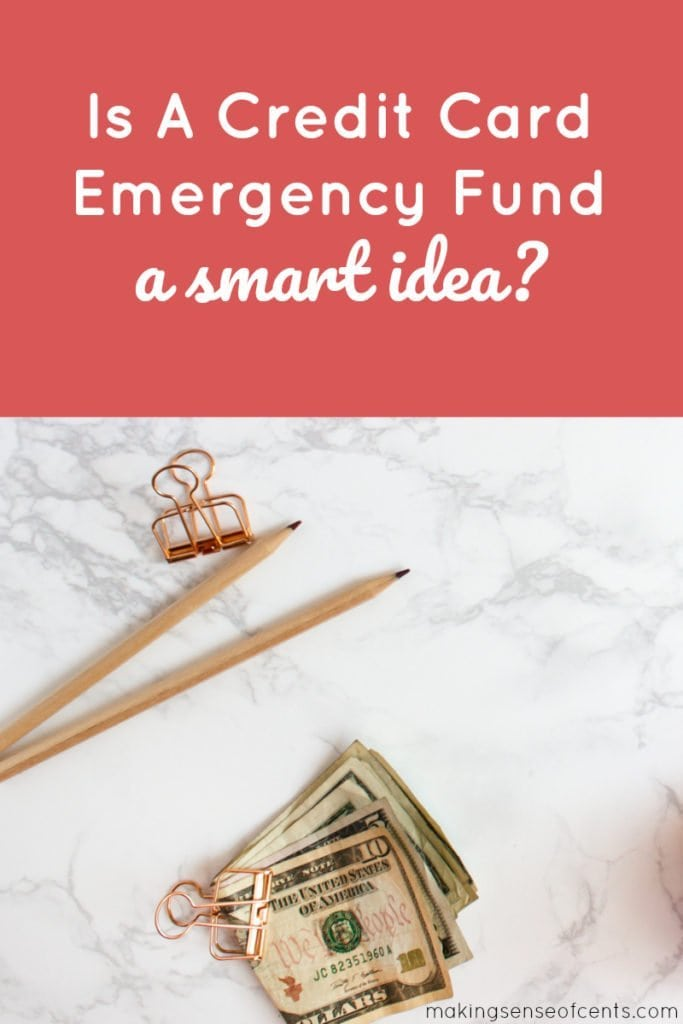 Having an emergency fund is something that I believe in A LOT. Some people decide to have a credit card emergency fund. What are the positives and negatives of that?