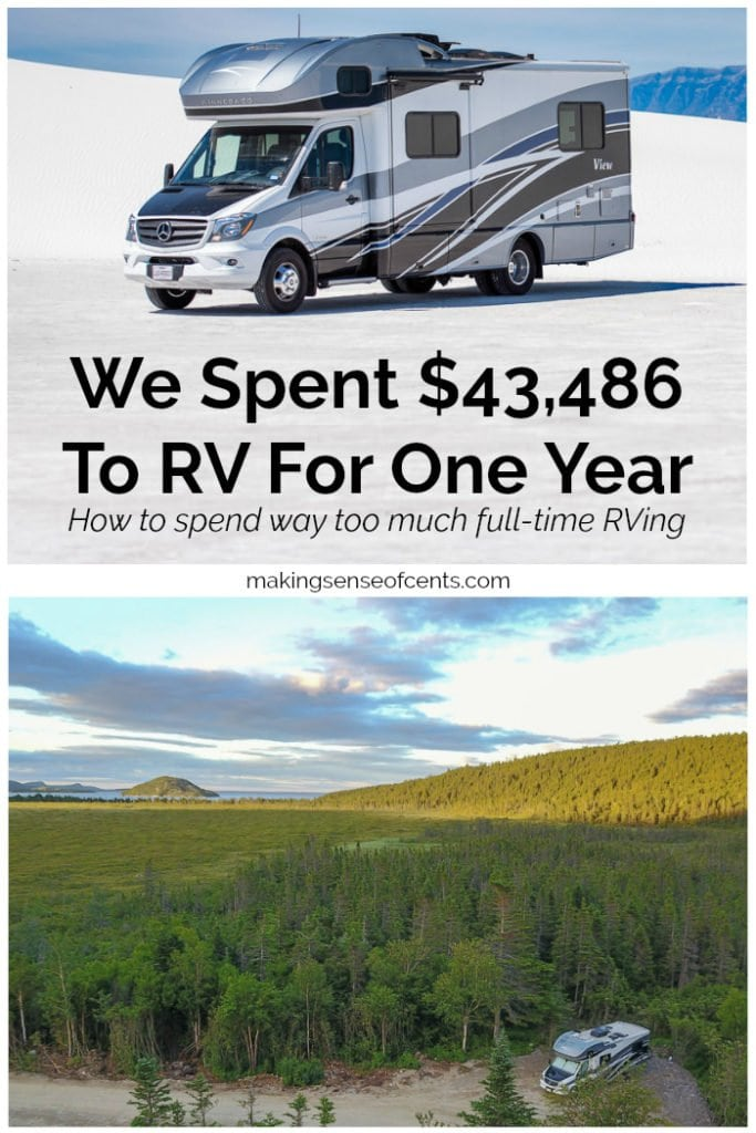 We Spent $43,486 To RV For One Year - How to Spend Way Too Much Full-Time RVing