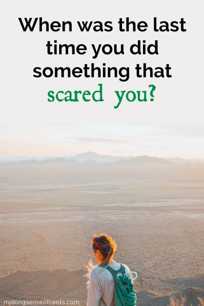 Scaring yourself is a good thing – it means that you're pushing yourself to do something new and outside of your comfort zone. This can help you grow as a person and continue to improve. #scareyourself #motivation #dreamlife #lifetips