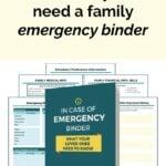 Answers to 7 Common Questions About Family Emergency Binders
