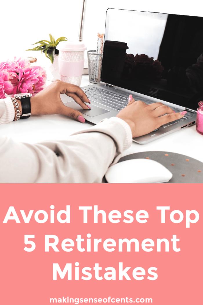 retirement mistakes