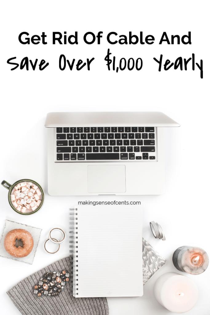 Leikkaa johto ja säästää yli $ 1000 joka vuosi #getridofcable #moneysavingtips #cutthecord