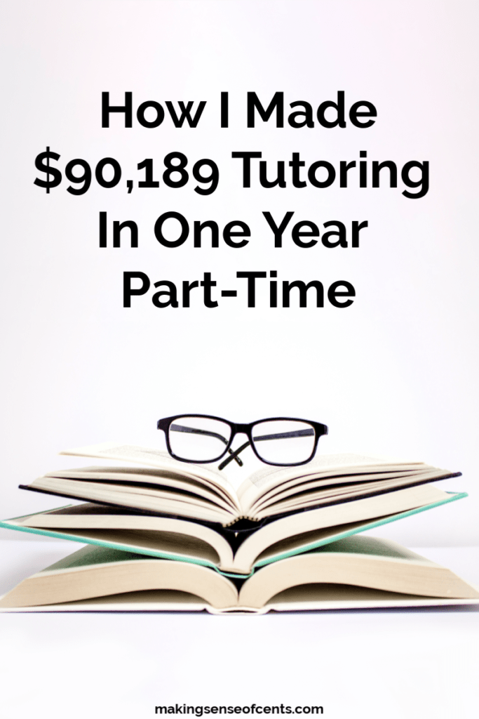 Do you want to learn how to become a tutor? Here is how Trevor earned $90,000 in one year working part-time in his tutoring business! #howtobecomeatutor #howtostartatutoringbusiness #tutor