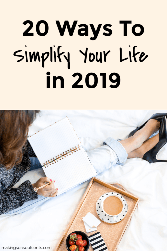 How To Simplify Your Life In 2019 #howtosimplifyyourlife #waystosimplifyyourlife