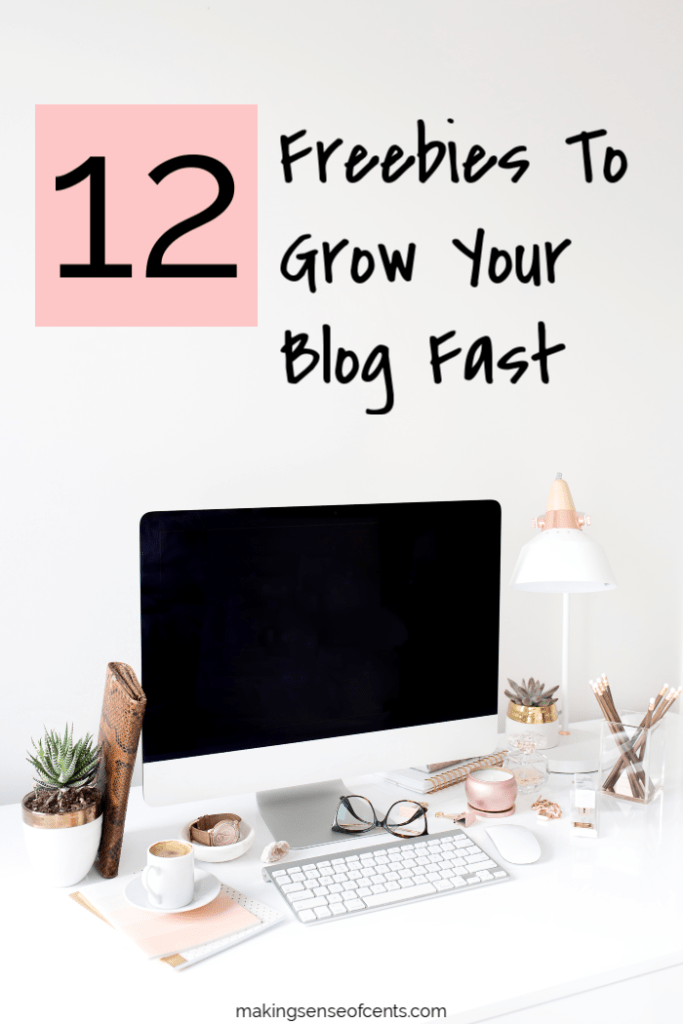 12 Free Resources To Grow Your Blog Fast #howtomakemoneyblogging #howtostartablog