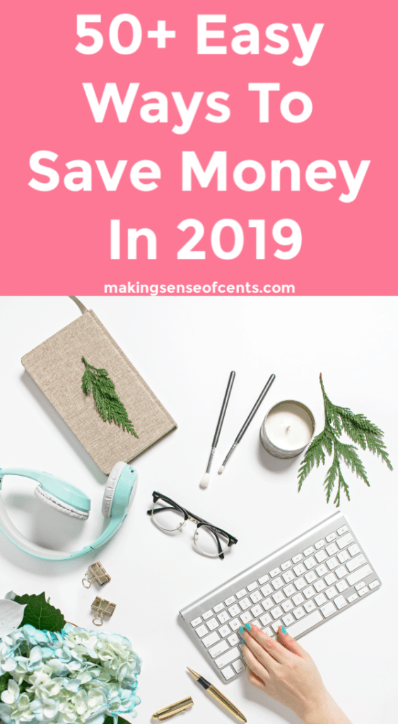 The Ultimate Guide of Over 50 Money Saving Tips For 2019 #savingtips #bestmoneysavingtips