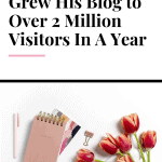 How One Blogger Grew His Blog to Over 2 Million Visitors In A Year