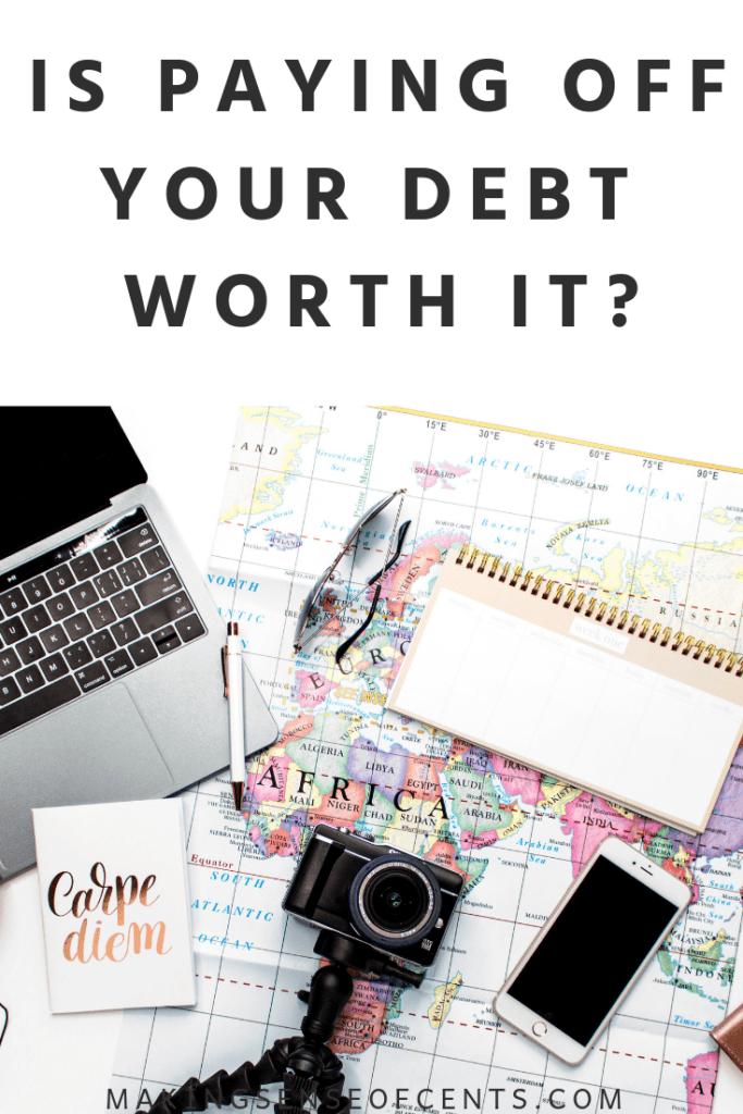 Betaalt uw schuld het waard? #payoffyourdebt #debt