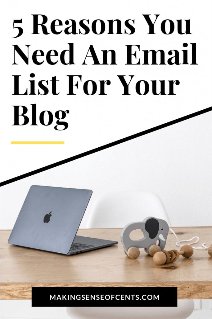 Bakit Kailangan ng Lahat ng Mga Blogger Isang Listahan ng Email