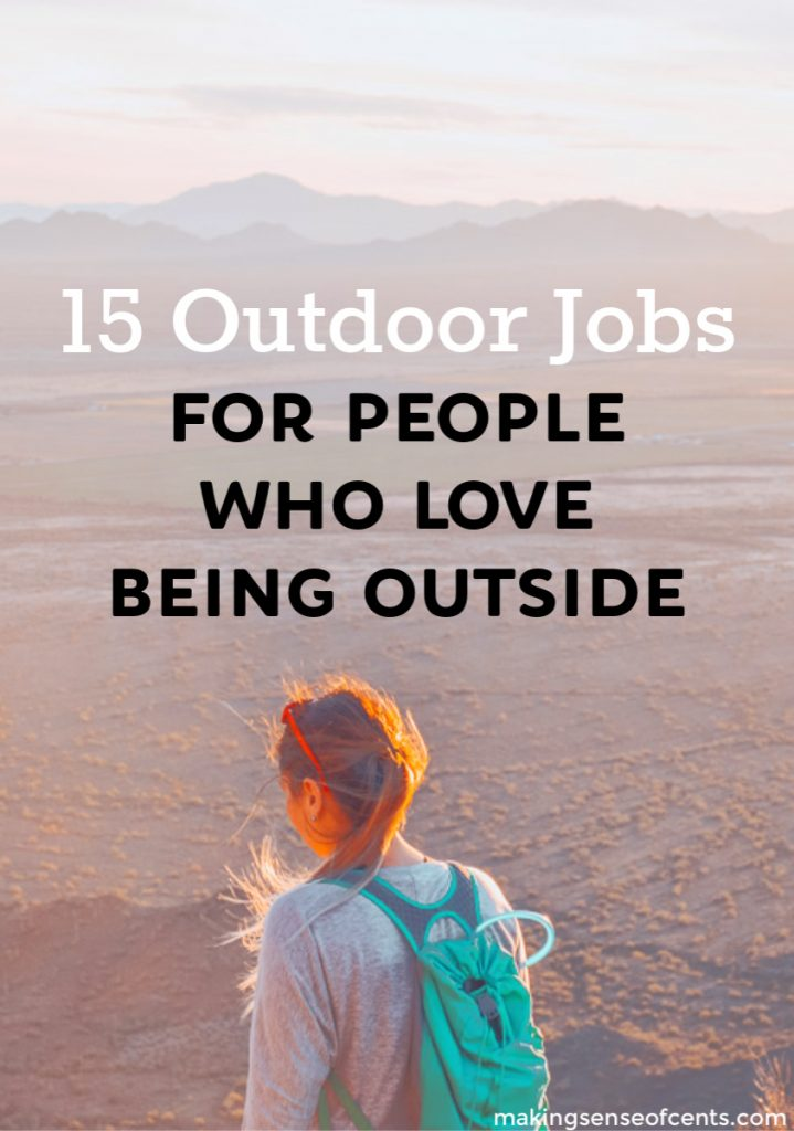 Looking for a list of outdoor jobs? These outdoors careers, adventure jobs, and nature occupations may change your life, and have fun at the same time! #listofoutdoorjobs #outdoorjobs #travel