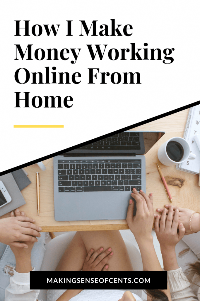 How I Made Money Blogging From Home In April 2019 #makemoneyblogging #workfromhome