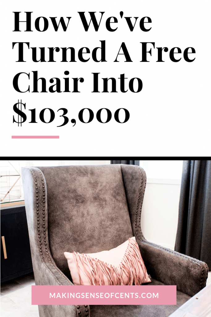 How We've Turned A Free Chair Into $103,000 #makeextramoney #flipper #fleamarketflip