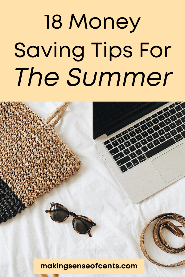 summer money saving tips