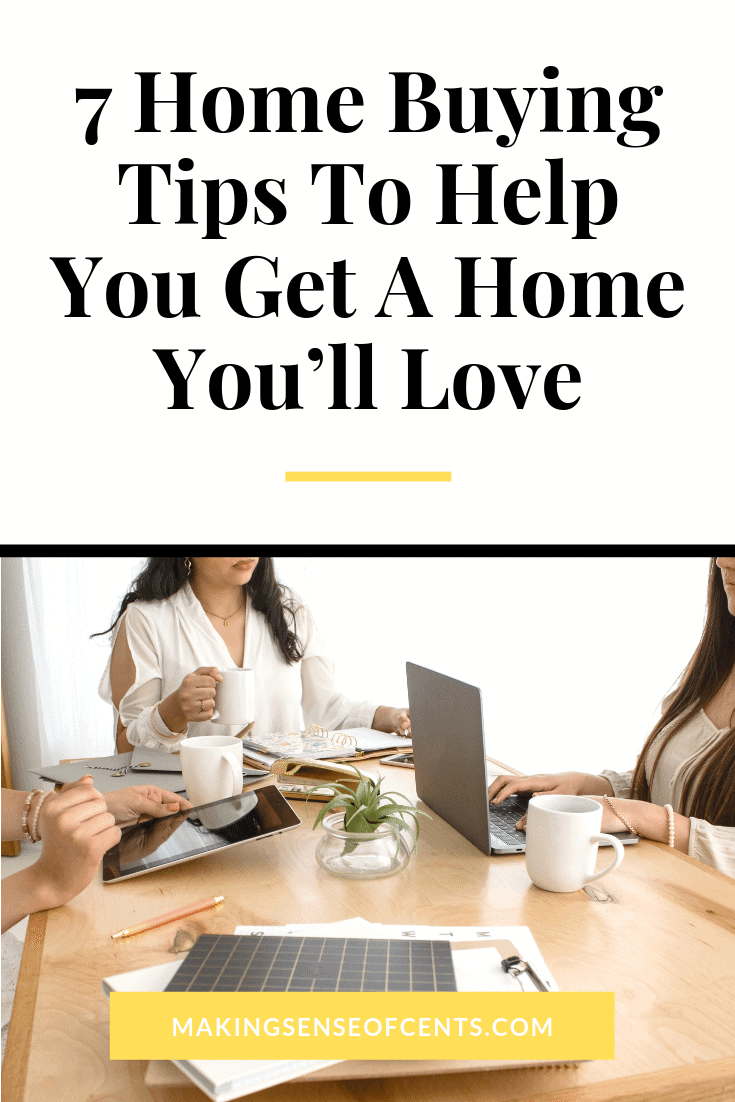 Looking to buy a house? Here are my home buying tips that will help you sort through all of your options, understand the real cost of each home, and make the right choice.  #homebuyingtips #stepstobuyingahouse #homebuyerguide #buyingahousetips