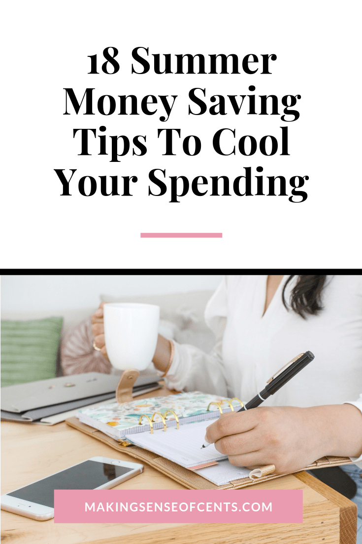 I love the warm summer weather, but it can mean extra spending on traveling, entertainment, and energy costs. To help your budget, I have some great summer money saving tips. #summermoneysavingtips #moneysavingtips