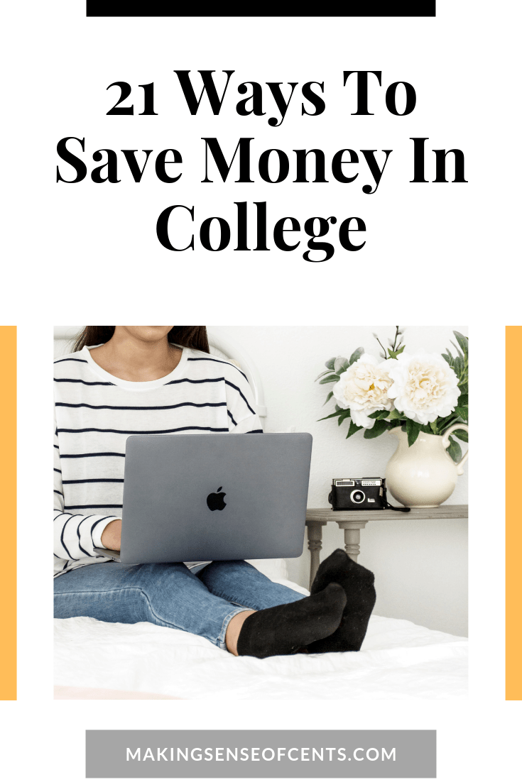 21 Ways You Can Learn How To Save Money In College #howtosavemoneyincollege #waystosavemoneyincollege