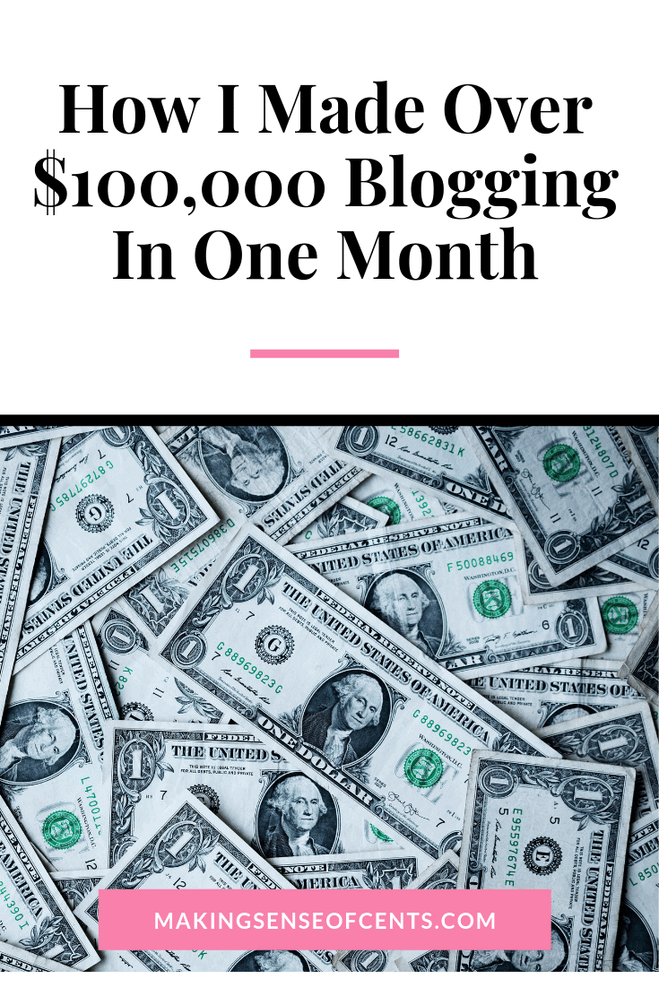 How I Made Money Blogging From Home In July 2019 #howtomakemoneyblogging #howtomakeextramoney