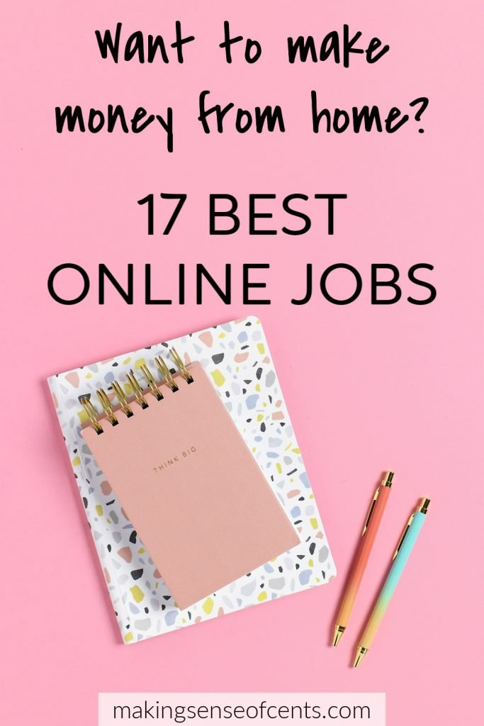 """Ali iščete eno najboljših spletnih mest, ki dobro plačujejo tam? Na srečo za vas je v današnjem svetu dejansko veliko spletnih mest od doma. #bestonlinejobs #onlinejobs #workfromhome """"width ="""" 333 """"height ="""" 500 """"data-pin-description ="""" Ali iščete eno najboljših delovnih mest v spletu, ki dobro plačujejo tam? Na srečo za vas je v današnjem svetu dejansko veliko spletnih mest od doma. #bestonlinejobs #onlinejobs #workfromhome """"srcset ="""" https://www.makingsenseofcents.com/wp-content/uploads/2019/09/17-Of-The-Best-Online-Jobs-683x1024.jpg 683w, https: / /www.makingsenseofcents.com/wp-content/uploads/2019/09/17-Of-The-Best-Online-Jobs-200x300.jpg 200w, https://www.makingsenseofcents.com/wp-content/uploads/ 2019/09/17-of-the-Best-Online-Jobs-768x1152.jpg 768w, https://www.makingsenseofcents.com/wp-content/uploads/2019/09/17-Of-The-Best-Online -Jobs-750x1125.jpg 750w, https://www.makingsenseofcents.com/wp-content/uploads/2019/09/17-Of-The-Best-Online-Jobs.jpg 1000w """"velikosti ="""" (največja širina : 333px) 100vw, 333px """"/> Na srečo za vas v današnjem svetu dejansko obstaja veliko spletnih delovnih mest, ki dobro plačajo.</span></p> <p><span style="""