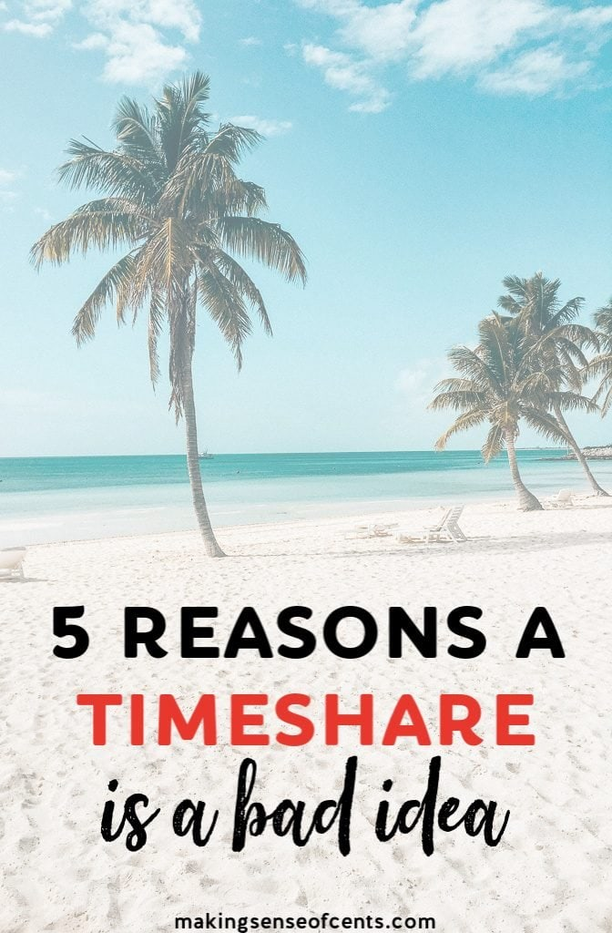 The problem is that timeshares aren't as amazing as the salesperson claims they are. They are expensive, you probably won't use them as much as you think, timeshare resale values are incredibly low making them hard to sell, and more.  #howtogetridofatimeshare #timeshare #traveltips