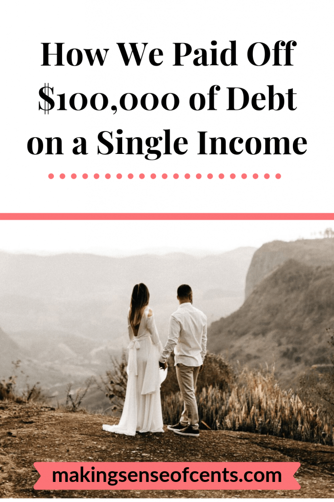 How We Paid Off $100,000 of Debt on a Single Income #payoffdebt #debtpayoff #manageyourmoney