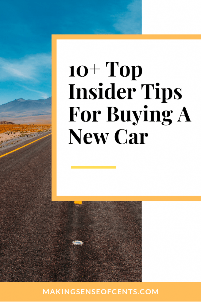 Looking to buy a new car? Here are 10 top tricks and tips for buying a new car so that you can learn how to save money with your next car purchase. #tipsforbuyinganewcar #buyingacar
