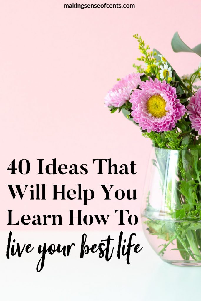 Are you feeling like life isn't going the way you want? Would you like to learn how to live your best life? Here are tips on how to live the best life now. #howtoliveyourbestlife #bestlife #livingthebestlife #lifetips