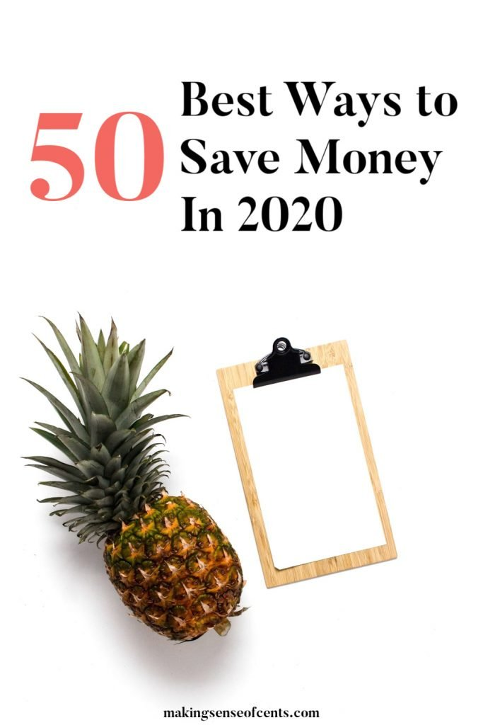 Here Are 50+ Of The Best Ways to Save Money In 2020 #bestwaystosavemoney #waystosavemoney