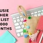 How Susie Grew Her Email List By 29,000+ In 9 Months