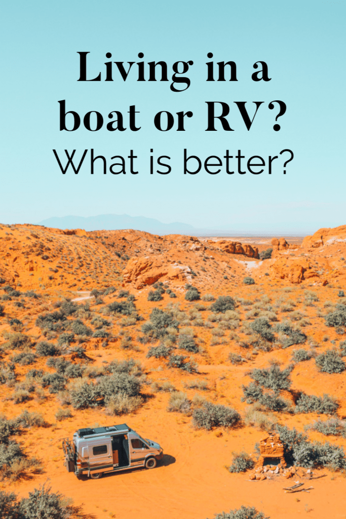 Living In A Boat Or RV?