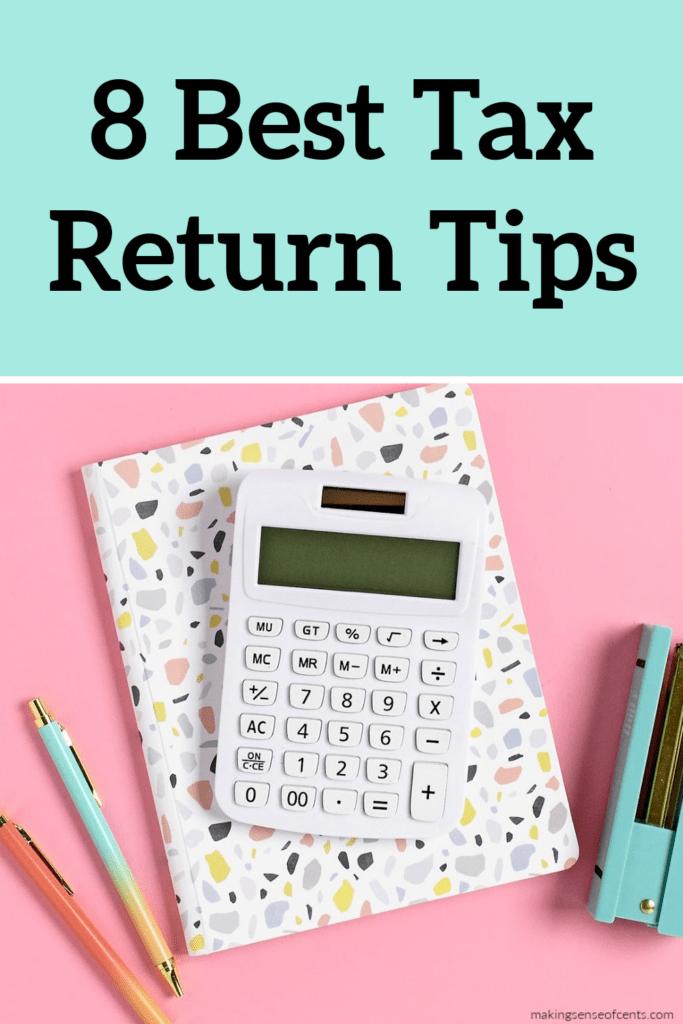 best tax return tips