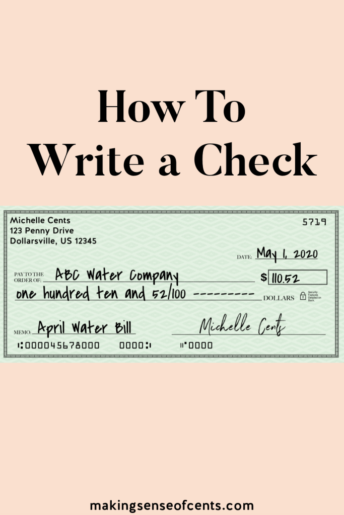 Need to learn how to write a check? In this article, you'll learn how to fill out a check with dollars and cents, how to void a check, and more. #howtowriteacheck #howtofilloutacheck