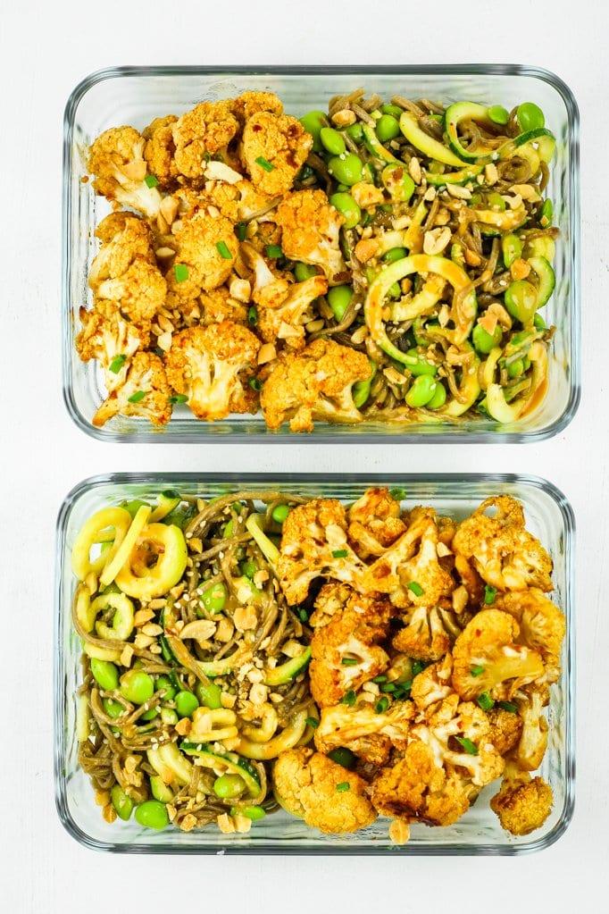 cheap vegan meal prep