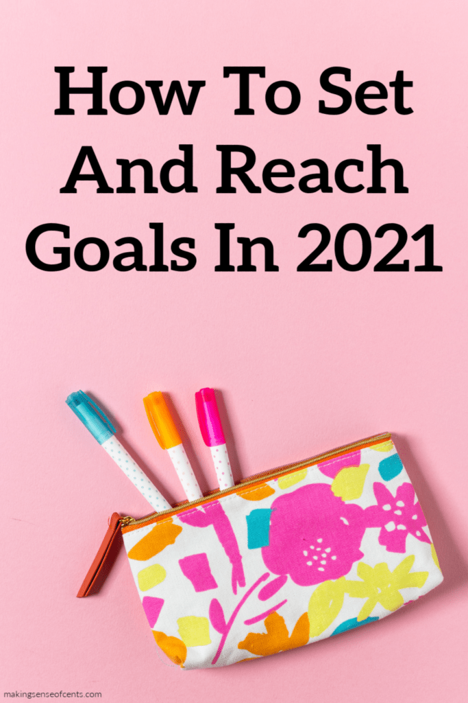 Setting 2021 goals for yourself