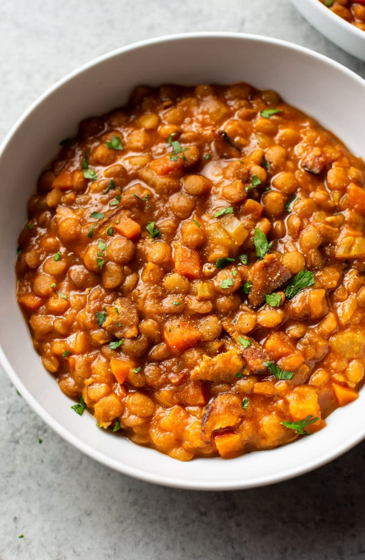 Lentil Instapot Stew