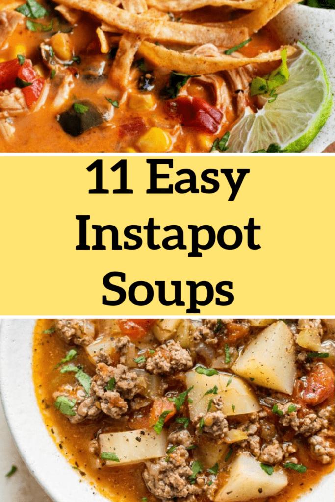 easy instapot soups