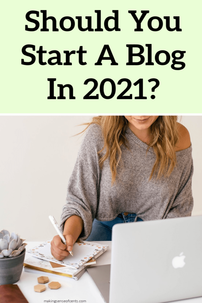 should you start a blog in 2021